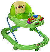 Fab N Funky Musical Baby Walker Green