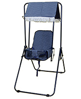 Buy Mothertouch Garden Swing Navy Blue
