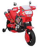Fab N Funky Battery Operated Motor Bike Ride-on Sports Red