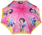 Sterling - Princess Print Frill Umbrella