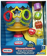 Discover Sound Shape Sort And Scatter 9 Months+, 20.32x 17.145x 31.115 cm, Helps infants l...