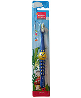 Morisons Baby Dreams - Shiny Caterpillar Blue Kids Toothbrush