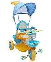 Fab N Funky - Tricycle With Push Handle Blue