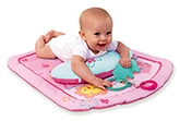 Buy Bright Starts - Pink Prop Up Mat