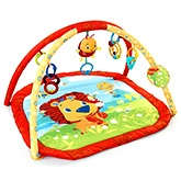 Lion In The Park Play Gym 0 Months+, (L X W X H):30.0 X 30.0 X 18.0 Cm, , Lion...