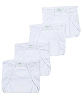 Babyhug Cloth Nappy Medium - Set Of 4
