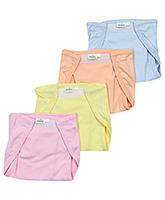 Babyhug  Cloth Baby Nappies Large - Set Of 4
