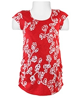 W Short Sleeves Maternity Top