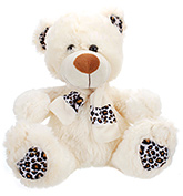 Teddy Bear Cream 2 Years+ ,30 Cms, Amazingly soft and fluffy teddy be...