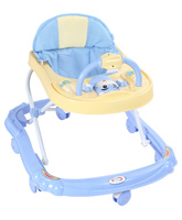 Buy Fab N Funky - Baby Walker Yellow Blue