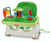 Buy Fisher Price - Rain Forest Healthy Care Booster Seat Green