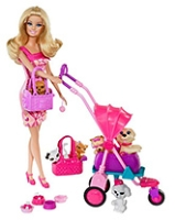 Pets And Fun Doll Pink 3 Years+, Barbie pet and Doll Collection is all abou...