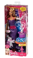 I Can Be Magician Doll In Purple 3 Years+, The Barbie I Can Be Magician makes the fun...