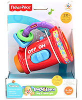 Fisher Price - Laugh And Learn Sing And Learn Light - 6 Months+