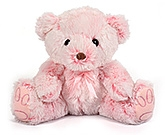 Big Teddy Bear 2 years +, 37 x 30 x 50 cm, Adorable Soft Toy for yo...