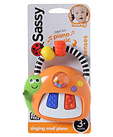 Snail Piano 3 months +, Press the lower piano key and show baby ...