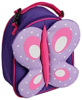 Butterfly Lunch Bag 2 years +, 18 X 8.5 X 23 cm,  Bags with colorful ani...