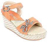 Buy Cute Walk - Party Wear Sandal With Bow
