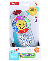 Fisher Price - Laugh And Learn Clicking And Learn Remote - 6 Months+