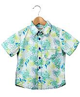 Buy Beebay - Printed Half Sleeves Shirt