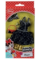 Minnie Mouse Glamour Doll Dress And Accessories 3 Years +, Style Up Your Doll With This Fantastic Dr...