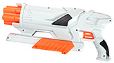 Air Max 6 Extreme White 6 Years+, 35 cm, Blasts up to 12 meter, Includes 6 f...