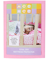 Mee Mee Total Dry Mattress Protector Medium - Pink