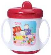 Buy Morisons Baby Dreams - Poochie Feeding Cup Red