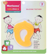 Buy Morisons Baby Dreams - Silicone Toy Teether Yellow