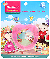 Buy Morisons Baby Dreams - Silicone Toy Teether Pink