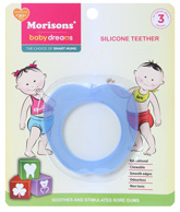 Buy Morisons Baby Dreams - Silicone Toy Teether Blue