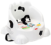 Buy Fisher Price Table Time Cow Booster - White