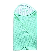 Buy Wow Mom - Jacquard Solid Baby Wrap Green