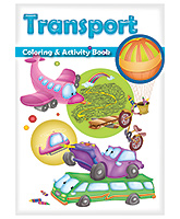 Macaw - Transport Colouring And Activity Transport Book