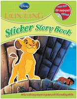 Disney - The Lion King With 40 Stickers