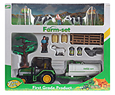 Funny Farm And Tractor Toy Set Multi Color 3 Years+, A Very Versatile Game, Farm House Helps Th...