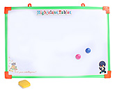 Tablet Printed Writing Board With Orange Duster Large 40x60 cm, Fun and attractive board to scrible on and...
