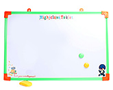Tablet Printed Writing Board With Yellow Duster Large 40x60 cm, Fun and attractive board to scrible on and...