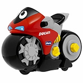Chicco - Multi Color Turbo Touch Ducati Evolution Toy - 1 Years+