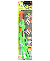 Blaster Shot Air Gun Green 6 Years+, Includes 1 Secret Storage Compartment, 1 T...