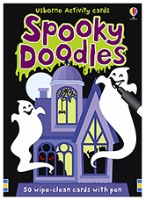 Usborne - Usborne Activity Cards Spooky Doodles