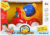 Fab N Funky - Musical Red Mini Truck With Blue Mixer