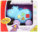 Fab N Funky - Musical Hippo Animals Series Musical Toys