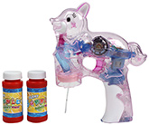 Pink Squirrel Shaped Musical And Lighting Bubble Gun 3 Years+, Pump water through the tube by pulling the...