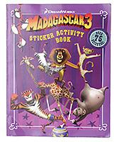 Penguin - Madagascar 3 Sticker Activity Book