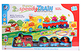 Battery Operated Funny Speedy Red Toy Train 3 Years+, The train is modern and elegant in fashion...