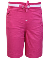 SAPS - Elasticated Waist Pink Shorts