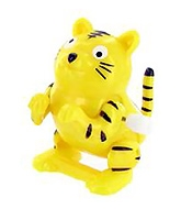 Tiger Shape Wind Up Flippin Pet 2.5 Inches, A Cute Flippin Toy For Kids