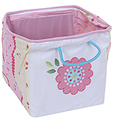 Abracadabra Pink Shelf Storage - Flower Patch Work