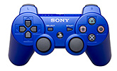 Sony - Dual Shock 3 Wireless Control Blue